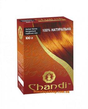 Натуральная индийская хна с лечебными травами, Chandi