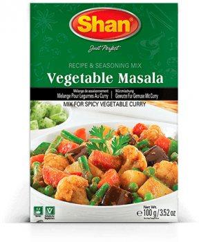 Приправа для приготовления овощной масалы Vegetable Masala (Mix for spicy vegetable curry), Shan