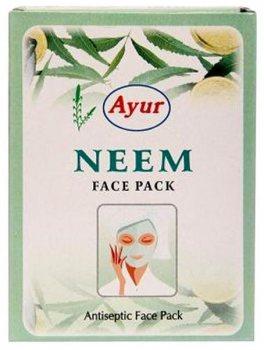 """Антисептическая маска для лица """"Ним"""", Ayur"""