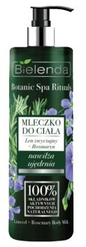 Молочко для тела (лён + розмарин) Botanic Spa Rituals, Bielenda