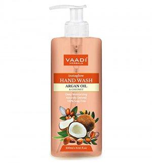 Жидкое мыло с маслом арганы и кокосом (Argan Oil & Coconut Hand Wash), Vaadi