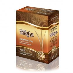 Стерилизованная витаминизированная индийская хна, Aasha Herbals