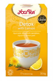 Аюрведический йога чай Detox Lemon, Yogi tea