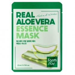 Увлажняющая тканевая маска для лица с экстрактом Алоэ Вера (Real Aloe Vera Essence Mask), Farmstay