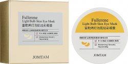 Гидрогелевые патчи с фуллеренами и экстрактом бурых водорослей (Fullerene Light Bulb Skin Eye Mask), Jomtam