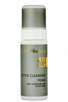 Пена для глубокого очищения проблемной кожи с экстрактом каннабиса, Cannabis