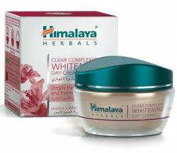 Отбеливающий дневной крем с матирующим эффектом (clear complexion whitening day cream), Himalaya Herbals