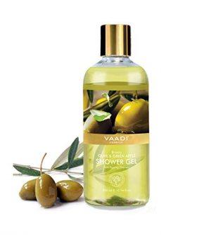 Гель для душа Оливка и Зеленое яблоко (Breezy Olive & Green Apple Shower Gel), Vaadi