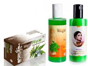 Подарочный набор Ним и Тулси, Aasha Herbals
