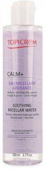 Мицеллярная вода успокаивающая (Calm+ Soothing Micellar Water), Topicrem