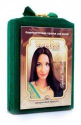 Аюрведическая лечебная краска для волос AASHA HERBALS, Горький шоколад