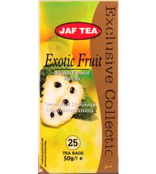 Чай Jaf Tea Black Tea Exotic Frutt в пакетиках