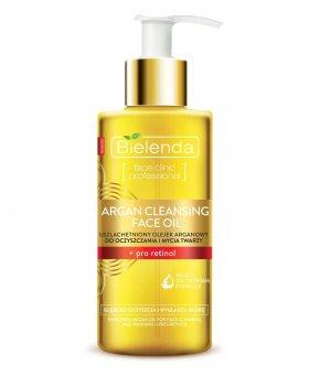 Средство для умывания с аргановым маслом и про-ретинолом Argan Cleansing Face Oil, Bielenda