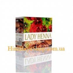 Краска для волос на основе хны Lady Henna, Светло-коричневая