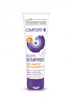 Крем компресс смягчающий кожу на пятках (Comfort+), Bielenda