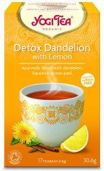 Аюрведический йога чай Детокс Одуванчик (Detox Dandelion), Yogi tea