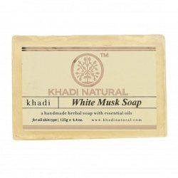 Аюрведическое мыло ручной работы Белый Мускус (White Musk soap), Khadi