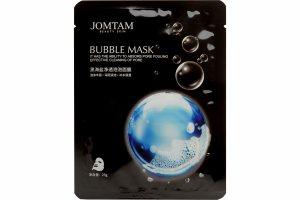 Очищающая тканевая пузырьковая маска для лица (Pure Clean Bubble Mask), (JMT3004), Jomtam