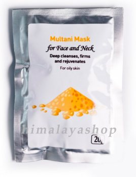 Маска для лица Мултани (Multani), Herbals