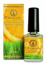 Масло для ногтей с апельсином и лемонграссом, Chandi