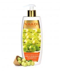 Аюрведический шампунь против выпадения волос Амла Шикакай, Vaadi Herbals