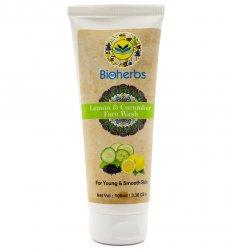 Гель для умывания Лимон и Огурец (Lemon & Cucumber Face Wash), Bioherbs