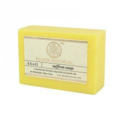Натуральное мыло ручной работы Шафран (Saffron soap), Khadi