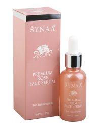 Сыворотка для лица омолаживающая с маслом Дамасской розы, Synaa
