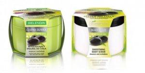 Терапия для сухой кожи Черная оливка, скраб и крем-масло для тела Bielenda