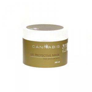 Маска для роста волос з защитой от ультрафиолета с экстрактом каннабиса (UV Protective Mask for Hair Growth), Cannabis