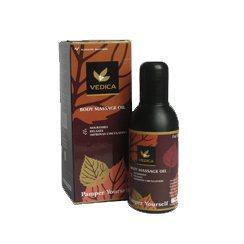 Массажное масло для лица и тела с лечебным эффектом, VEDA Vedica