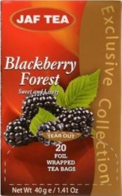 Чай Jaf Tea Blackberry Forest в пакетиках