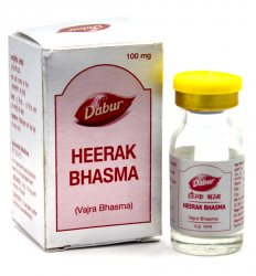 Хирак Бхасма (Heerak Bhasma (Vajra Bhasma)), Dabur