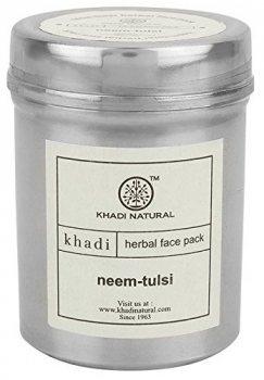 Аюрведическая маска для лица Ним и Тулси (сухая), Khadi