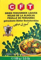 Листья пажитника (шамбалы), CFT
