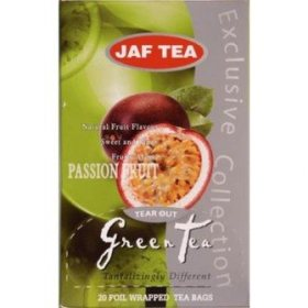 Чай Jaf Tea Green Tea Passion Fruit в пакетиках