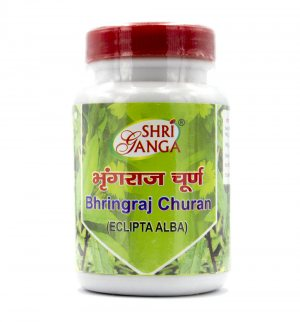 Брингарадж в порошке (Bhringraj Churan (Eclipta Alba)), Shri Ganga