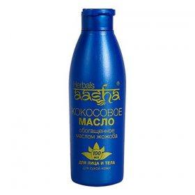 Кокосовое масло с жожоба для увлажнения и питания кожи лица и тела, Aasha Herbals