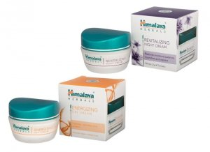 Энергетический дневной и Восстанавливающий ночной крем, Himalaya Herbals