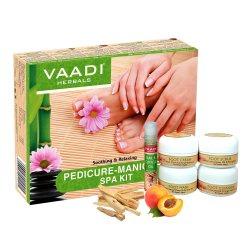 Спа-набор для маникюра и педикюра, Vaadi Herbals