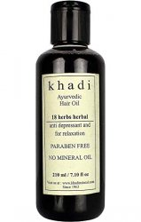 Масло для волос 18 трав Кхади, KHADI