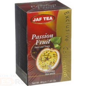 Чай Jaf Tea Passion Fruit в пакетиках