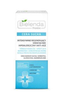 Интенсивно регенерирующий ночной крем для сухой кожи лица, Bielenda