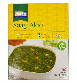 Готовое блюдо Сааг Алоо (Saag Aloo), Ashoka