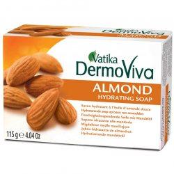 Увлажняющее мыло с миндалем Almond, Vatika DermoViva