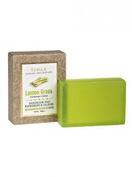 Натуральное мыло ручной работы ЛемонГрасс Lemon Grass, Synaa