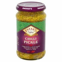 Пикули зеленого перца чили (Chilli Pickle), Patak's