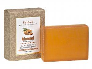 Натуральное мыло ручной работы Миндаль Almond, Synaa