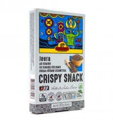 Индийские пшеничные хлебцы с Зирой (Кумином) (Crispy Snack Jeera), Good Sign Company