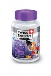 "Желейные витамины ""Омега-3 МультиВит Кидс"" БЕЗ САХАРА (Omega-3 MultiVit Kids Sugar Free), Swiss Energy"